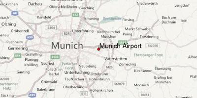 Minhenu Mapu Mape Minhenu Bavarske Nemacka